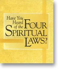 The four spiritual laws - gospel