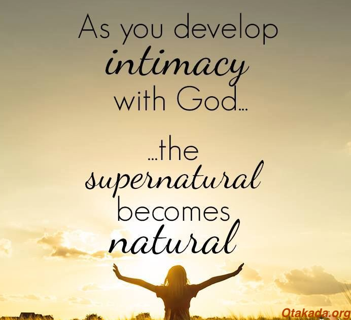 The Great Exchange For Service – Intercession Part 2 – Intimacy and Communion with God is a must