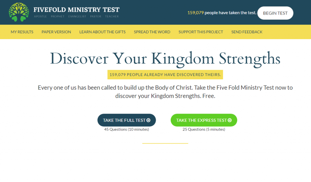 difference between fruit and gifts  five fold ministry gift test 3
