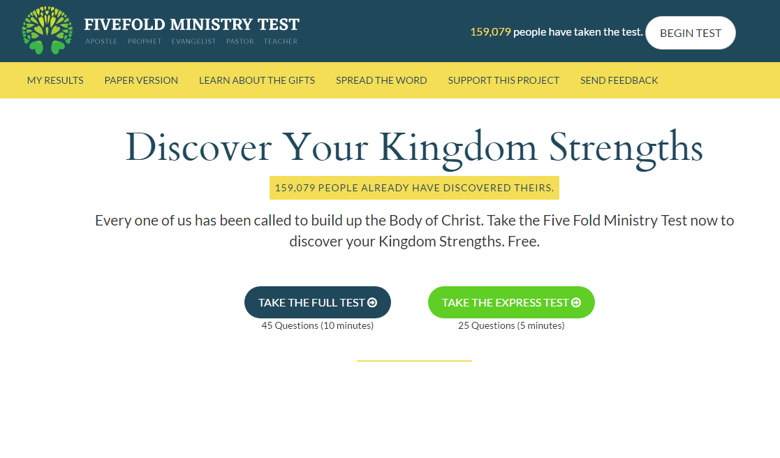 difference between fruit and gifts five fold ministry gift test - spiritual gift test - discovering your spiritual gifts