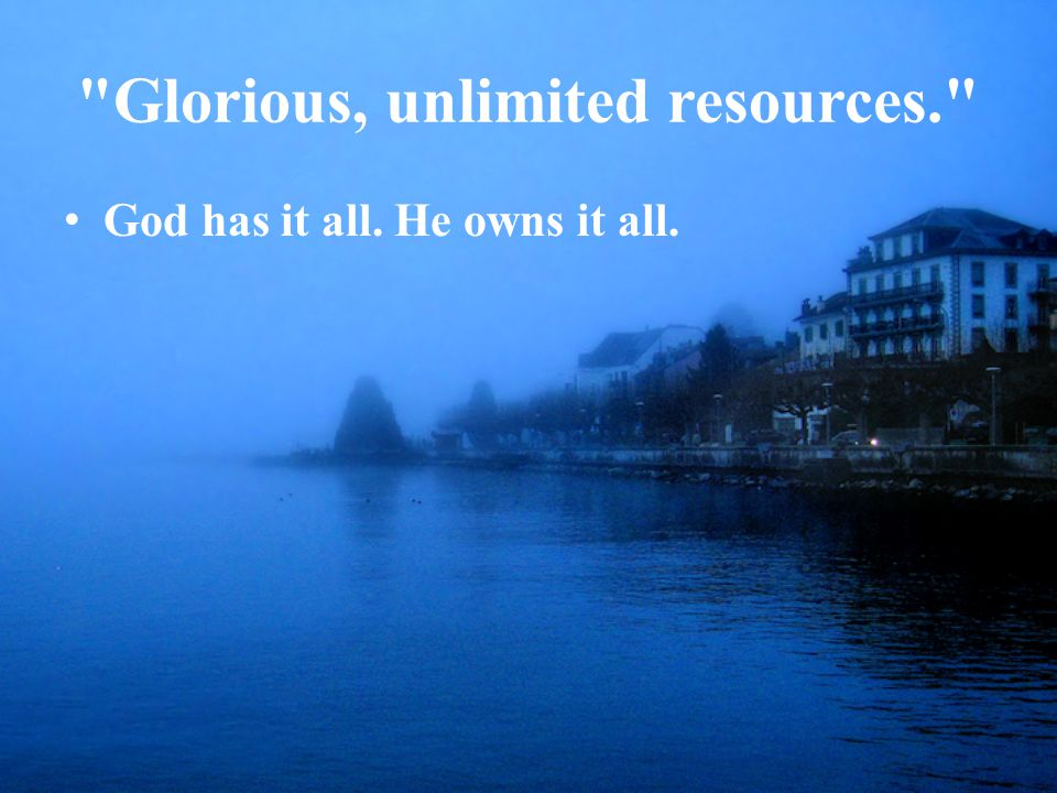 Glorious, Unlimited Resources on Christianity and our walk with Jesus