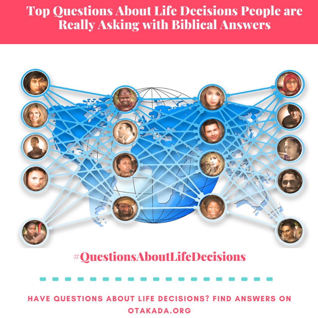 Have Questions, Find answers on Otakada.org - Top Questions About Life Decisions People are Really Asking with Biblical Answers