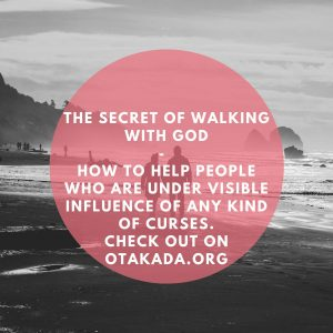 The School of the Holy Spirit - 46 of 52 - Part 34 The Secret of walking with God + How to Help people who are under visible influence of any kind of curses