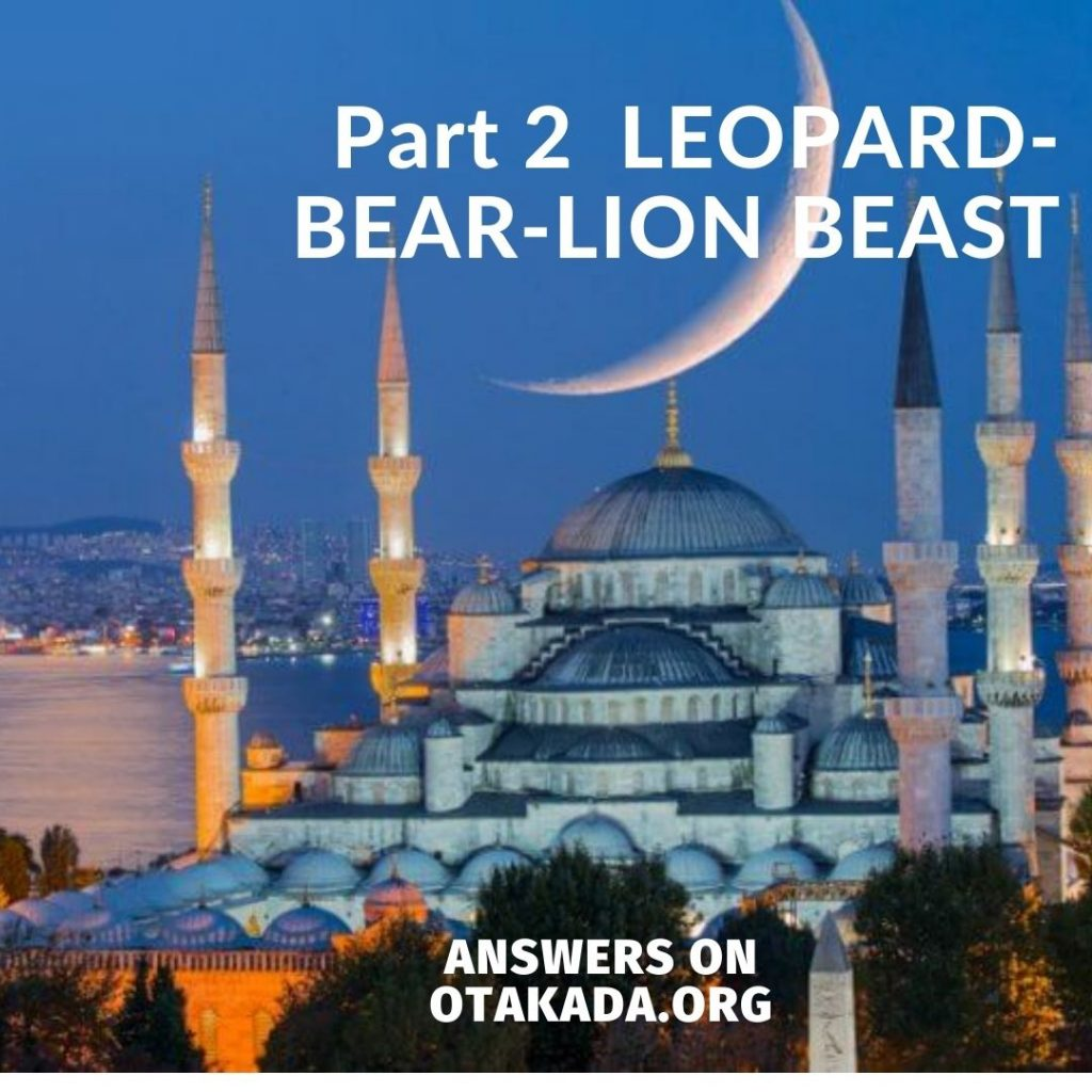 Part 2 - LEOPARD-BEAR-LION BEAST