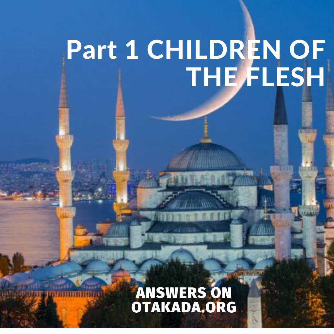 Part 1 CHILDREN OF THE FLESH
