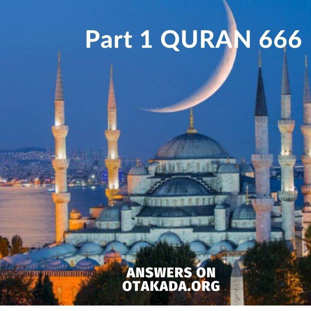 Part 1 QURAN 666