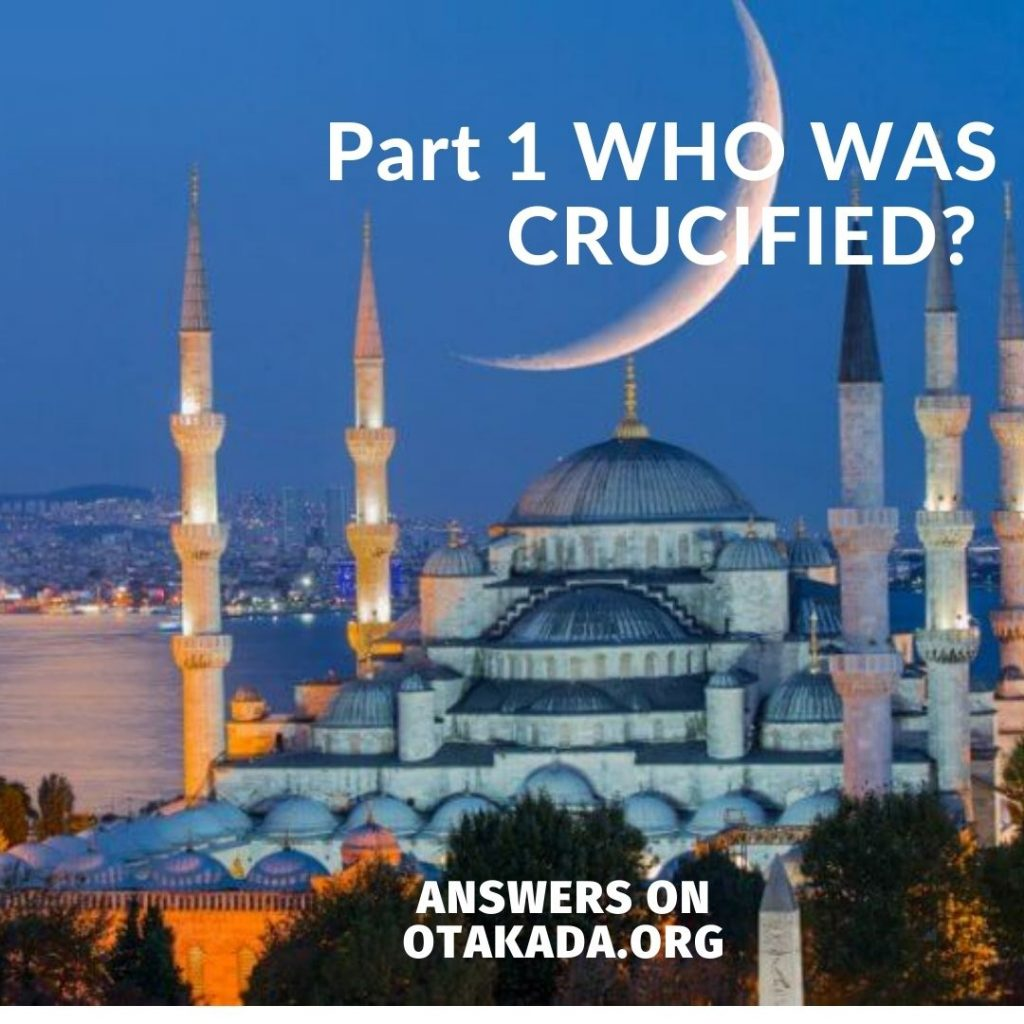 Part 1 WHO WAS CRUCIFIED?